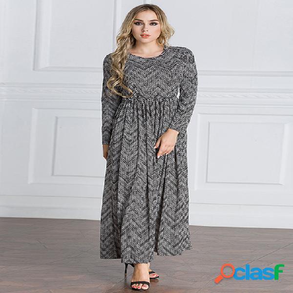 Robe maxi femme musulmane vintage
