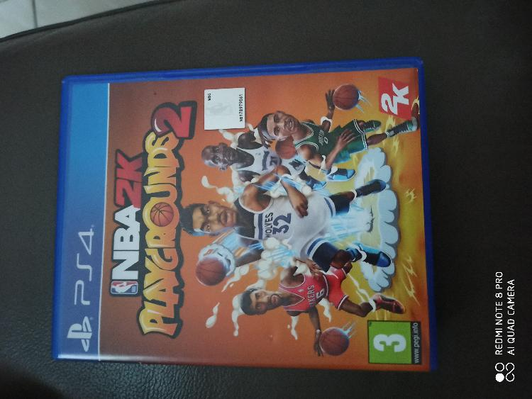 jeux ps4 nba2k playgrounds2 basket-ball de rue neuf,