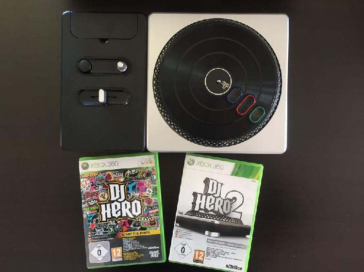 Platine dj hero xbox360 + jeux neuf, villetelle (34400)