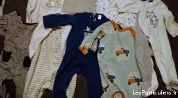 Lot vêtements bébé garçons de 0 à 18 mois
