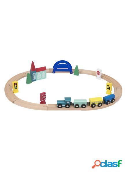 Hema circuit de train en bois