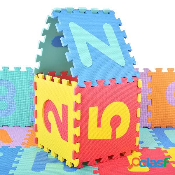 36 pcs mousse de matelas tapis enfants tapis de jeu de tapis de puzzle tapis de jeu tapis de tapis de sol