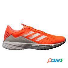 Adidas chaussures de running sl20 - coral/argenté/noir femme