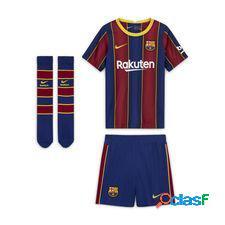Fc barcelone maillot domicile 2020/21 mini-kit enfant