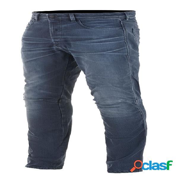 ALPINESTARS AS-DSL Shiro Denim, Jeans moto hommes, Rinse Plus Blue