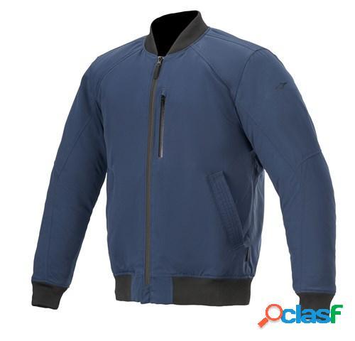 ALPINESTARS Idol, Veste moto textile hommes, Bleu Marine