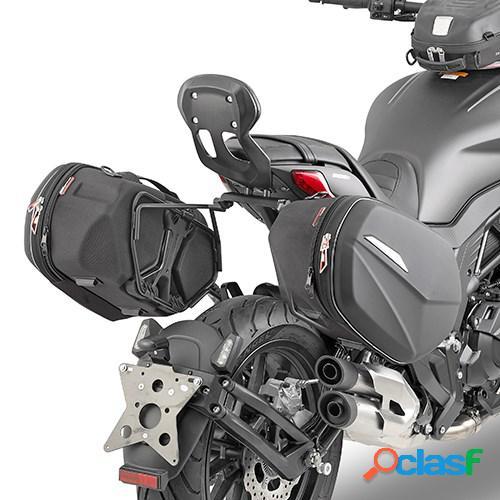 GIVI Supports de sacoche avec fixation easy lock, Bagagerie pour votre moto, TE8706