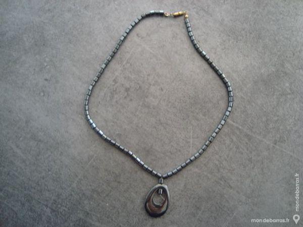 Collier en perles céramiques fait main occasion, la