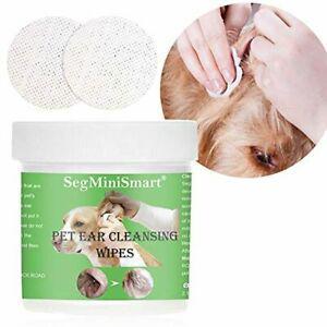 Lingette oreille chien,nettoyage oreille chien,lingettes