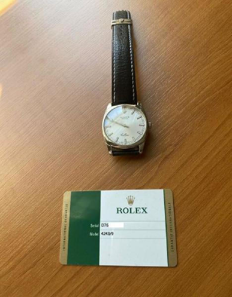 Rolex cellini danaos, référence 4243/9 remontage manuel