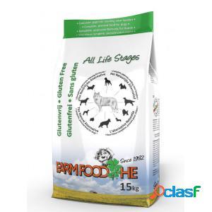 Farm food he sans gluten pour chien 15 kg