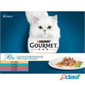 Gourmet perle classic 85 gram chat 5 x (8 x 85g)