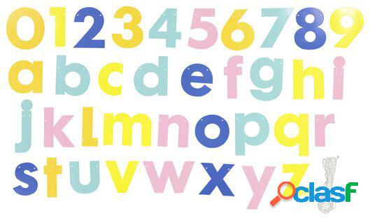 Hema guirlande de lettres à créer