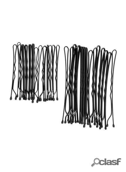 Hema lot de 30 épingles à cheveux (noir)
