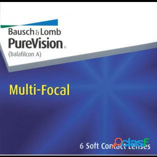 Purevision multifocal (6 lentilles)