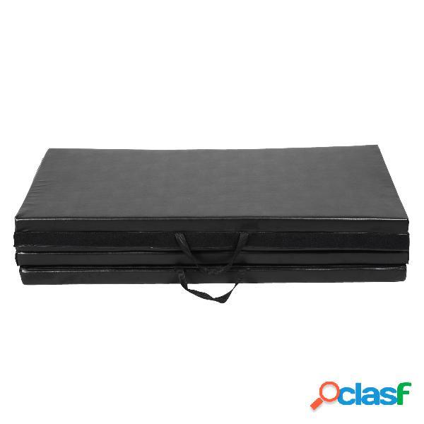 Tapis de sol gymnastique pliable portable natte de gym matelas neuf