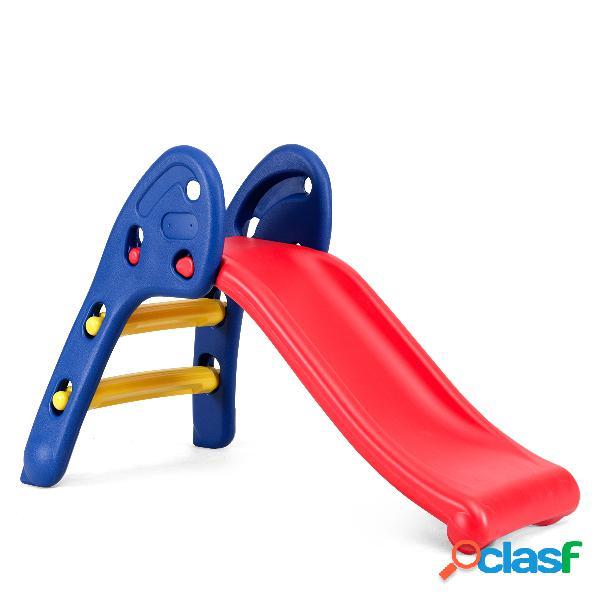 Costway toboggan pliant avec forte capacité de charge idéal pour enfant de 3-8 ans
