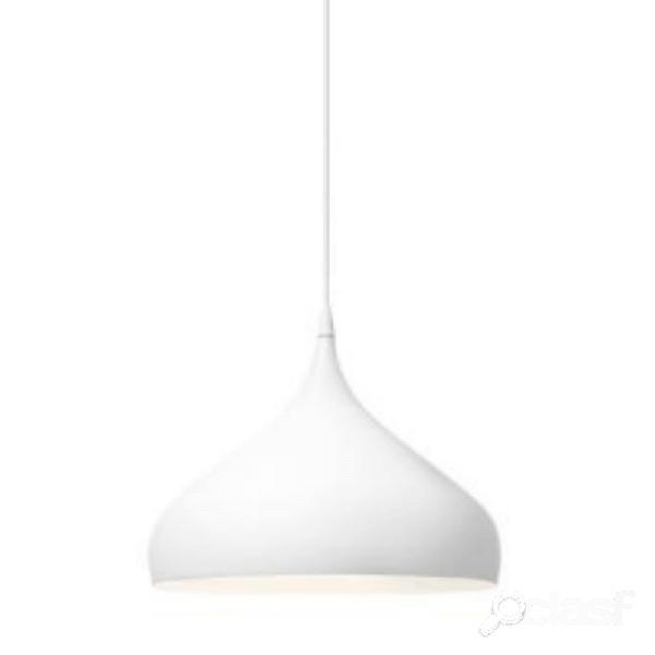 """""""suspension en forme de toupie spinning light bh2 d40 cm - blanc mat"""""""