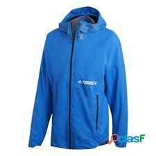 Veste terrex 2.5-layer zupahike rain bleu