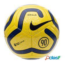 Premier league ballon skills - jaune/bleu/noir