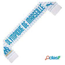 Marseille écharpe fan - blanc/bleu