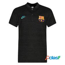Fc barcelone polo authentic grand slam - gris/cabana enfant