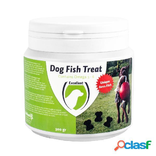 Excellent friandises de poissons pour chiens (80% de poisson) 300 g