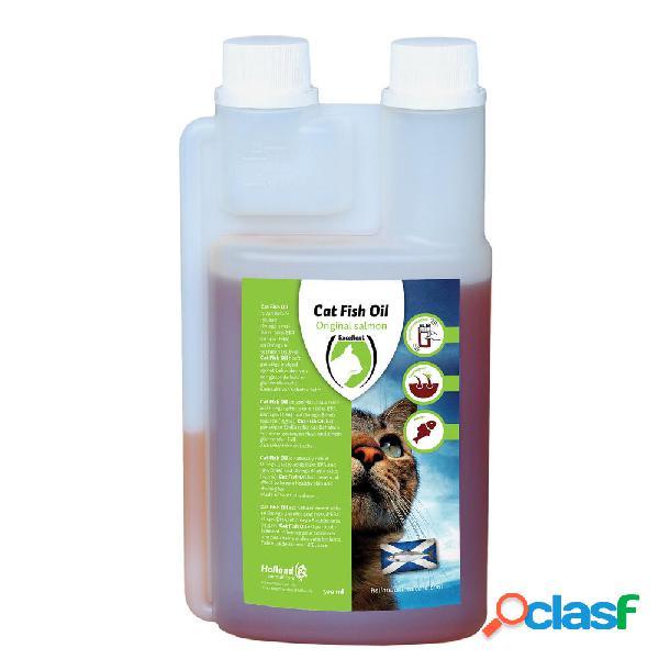 Excellent huile de poissons pour chats (huile de saumon) 500 ml