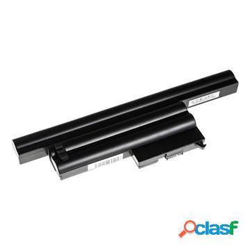 Batterie pour ibm / lenovo - thinkpad x60, x60s, x61 - noire - 4400 mah