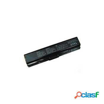 Batterie pour toshiba satellite pro l300, pro l300-154, l300-155 - noire - 4400 mah