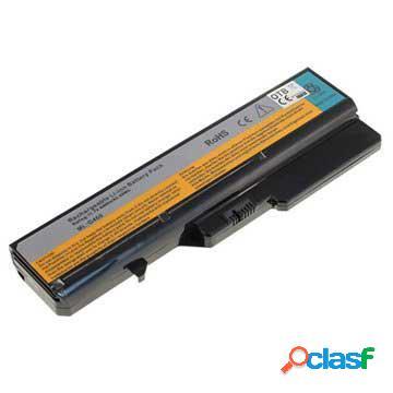 Batterie d'ordinateur portable pour - lenovo b570, g570, v570, ideapad z475,z560 - 4400mah