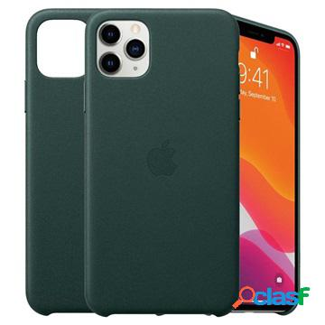 Iphone 11 pro max apple leather case mx0c2zm/a - forest green