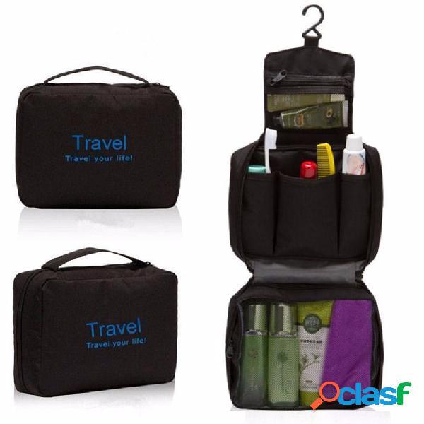 Trousse de rangement pour organisateur de sac de douche de toilette de lavage de toilette suspendu de voyage