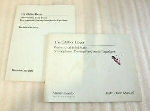 Harman kardon the citation eleven original owners