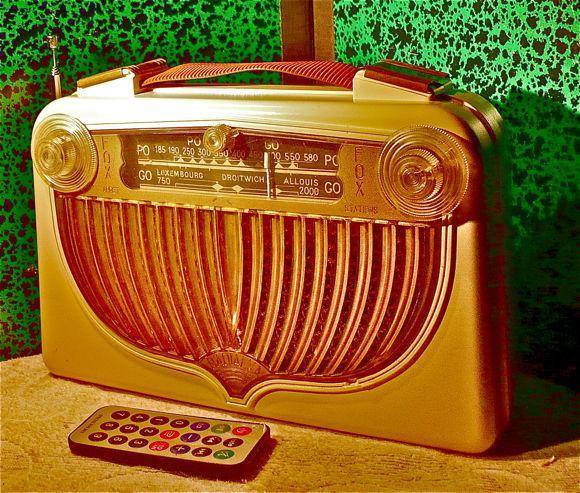 Radio fm avec module bluetooth usb sd ++radialva fox 1954