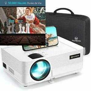 Videoprojecteur, vankyo 5000 lumens projecteur supporte