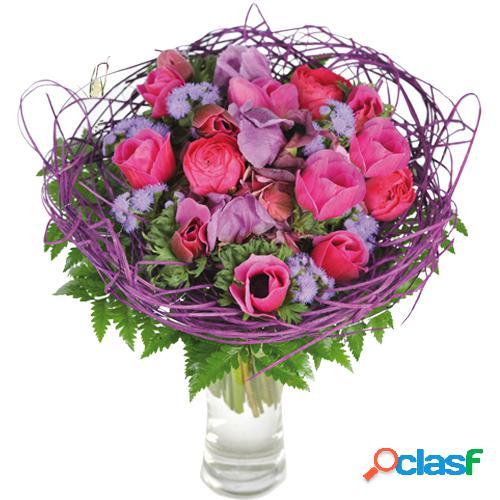 Bouquet de saison du fleuriste, entre nous