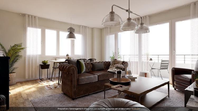 Vente appartement 84m² paris 12ème - nation-picpus