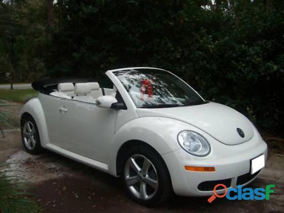 Je donne Volkswagen New Beetle Décapotable 2005 tout en blanc occasion de première main