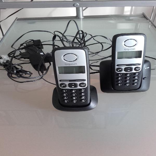 Téléphone fixe 2 combinés gigaset duo - neuf