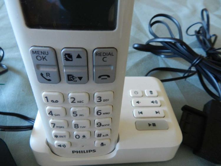 Téléphone fixe sans fil avec répondeur d 235 duo philips