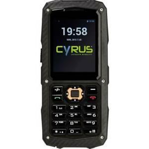 Téléphone portable outdoor cyrus cm8 solid 163248 noir 1