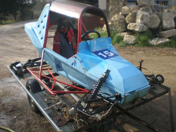 Chassis de kart cross occasion, maurin (34970)