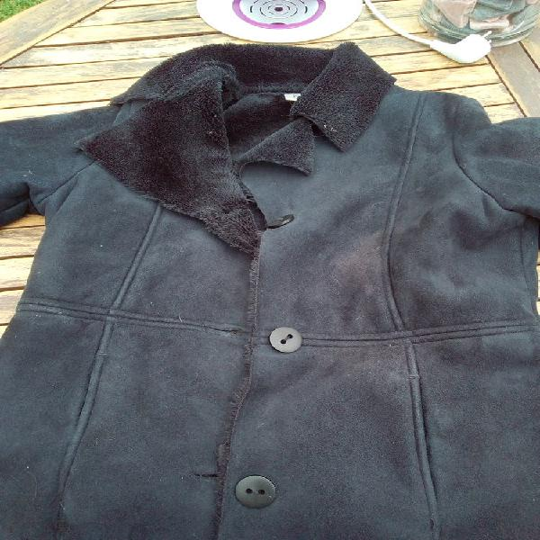 Manteau cuir noir 36 neuf, lille (59800)