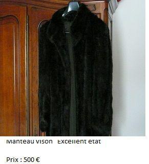 Manteau vison neuf, saint-orens-de-gameville (31650)