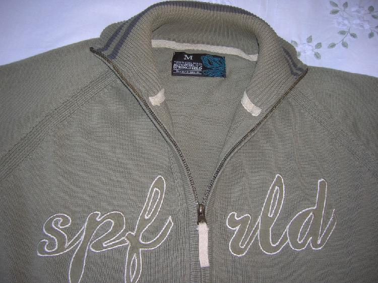 Pull cardigan springfield taille m occasion, châteauroux