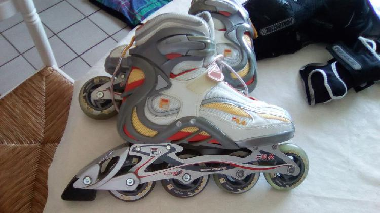 Rollers fila taille 38 pour 37 neuf, grenoble (38100)