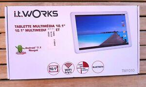 Tablette 10.1 pouces android it works (neuve: emballage