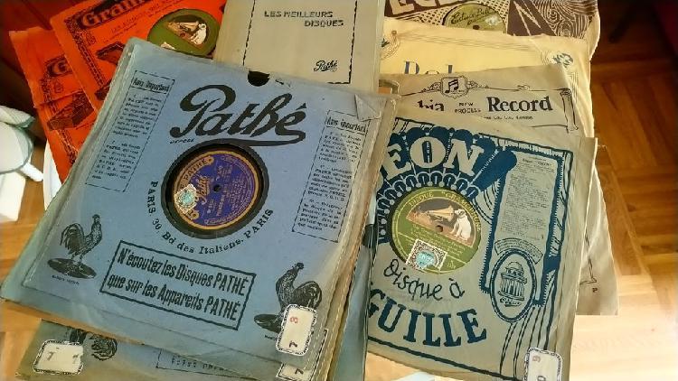 Disques pour gramophone unique/collector, dormelles (77130)