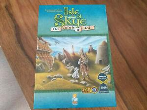 Isle of skye jeu de base excellent état vf